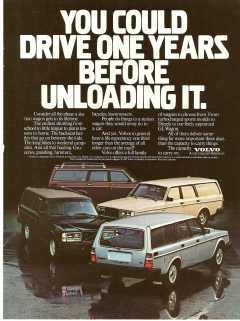 1982 Volvo 240 Ad: You Could Drive One Years Before Unloading It — William Grady