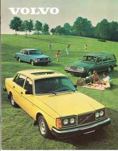 1980 Volvo 240 Brochure: DL, GT, GL, GLE and Bertone Models — William Grady