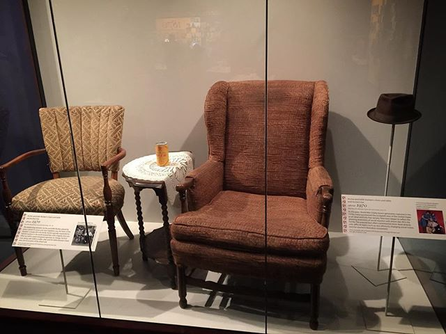 Over the weekend I saw America's most precious historical artifact... Archie Bunker's chair.