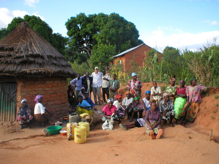 Vance traveling in Kitui Kenya