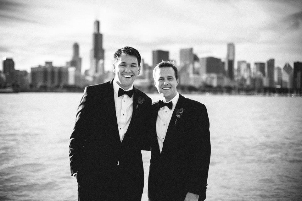 In Chicago with my new brother-in-law