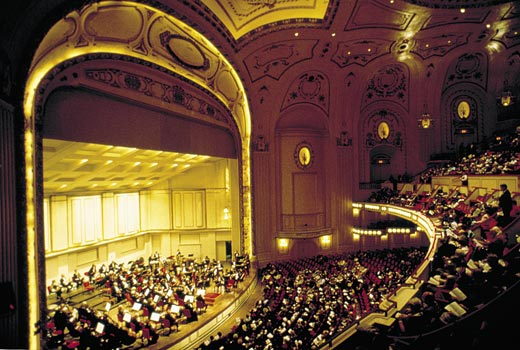 St. Louis, Missouri The acclaimed St. Louis Symphony performs summer through fall in Powell Symphony Hall. Copyright © Gail Mooney Smithsonian Magazine
