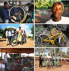 Click above to meet some of the amazing Mozambicans changing their lives with bicycles, check out our events and view other great photos!