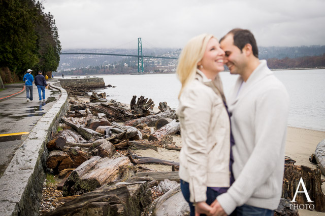 Vancouver Stanley Park Engagement Photography (9)