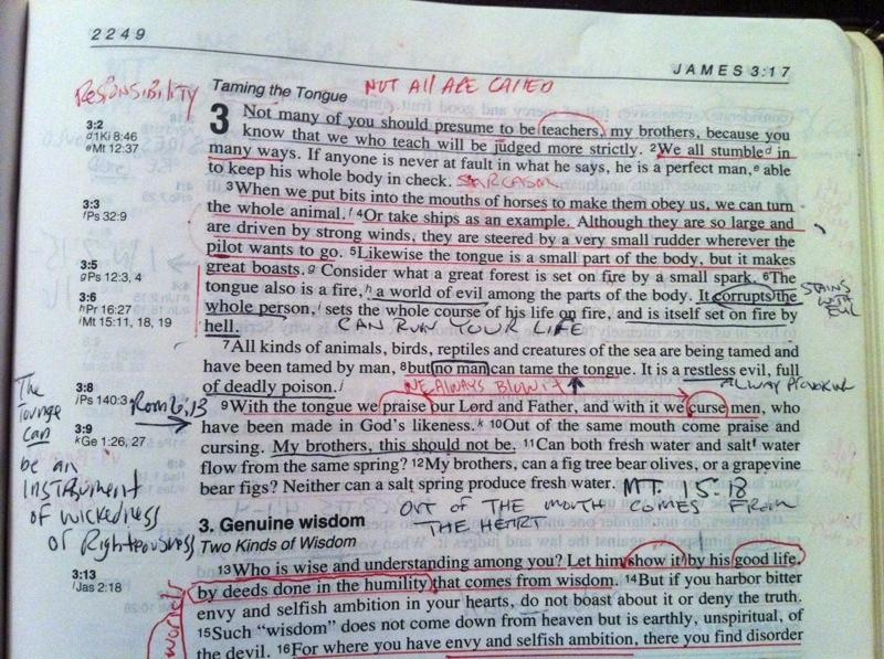 How I'm Using the ESV Journaling Bible — JOETHORN net