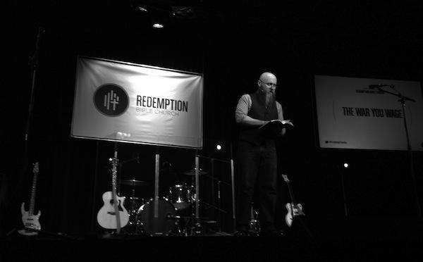 Preaching at RBC