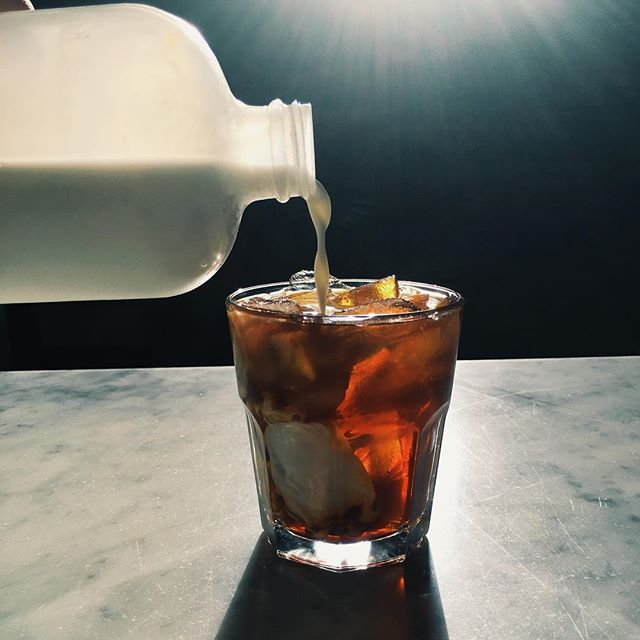 The cold brew is calling.