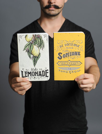 Check out these Sevenly exclusive Denik notebooks.   Sevenly.org