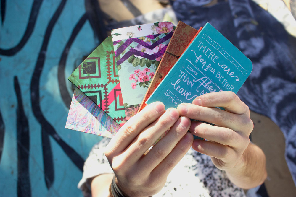 FREE pocket notebooks for all orders over $30!