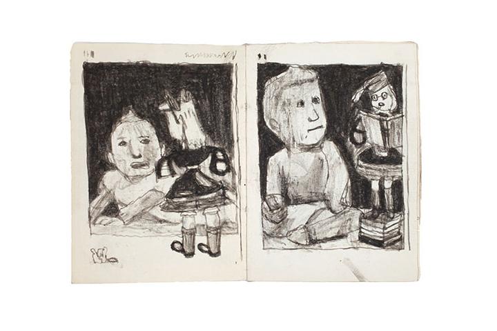 james-castle-artwork-figures