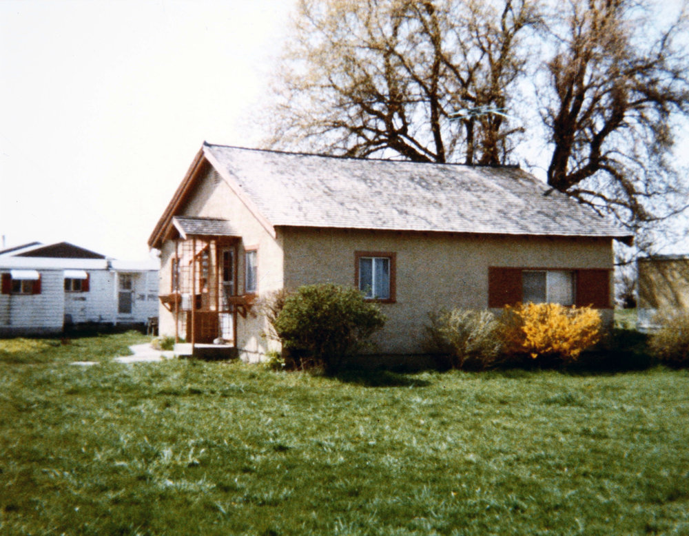James Castle's home in Boise, ID, circa 1970