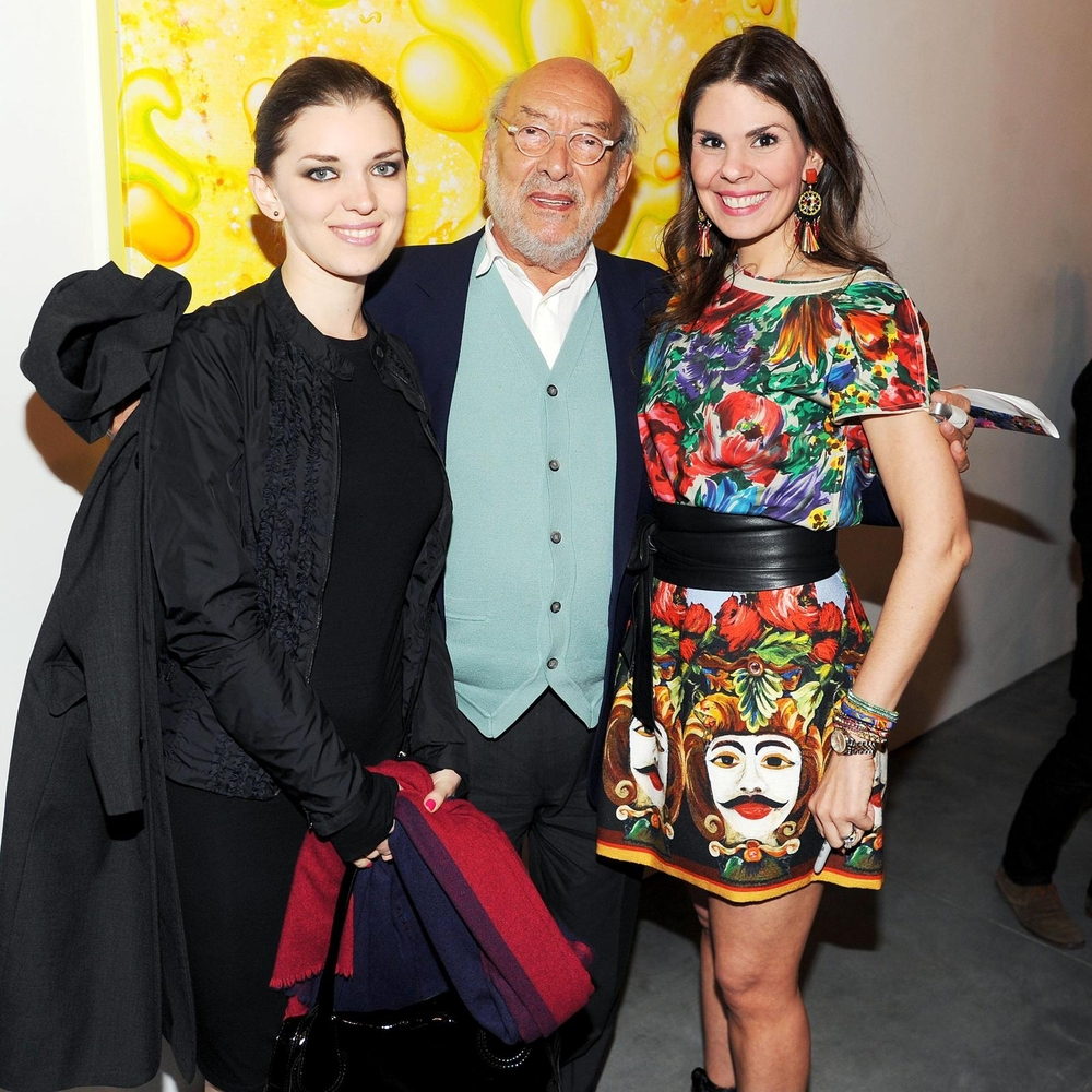 Even the amazing designer and architect, legend Gaetano Pesce, came to the party. Beyond honored.
