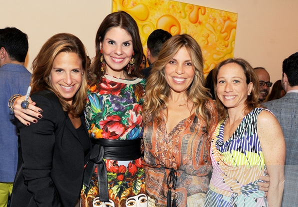 With my dearest girls: Ali Zelenko, Claudia Saez-Fromm and Marni Salup
