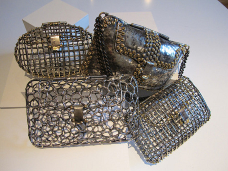 "Anndra Neen's ""Open Cage"" Clutches"