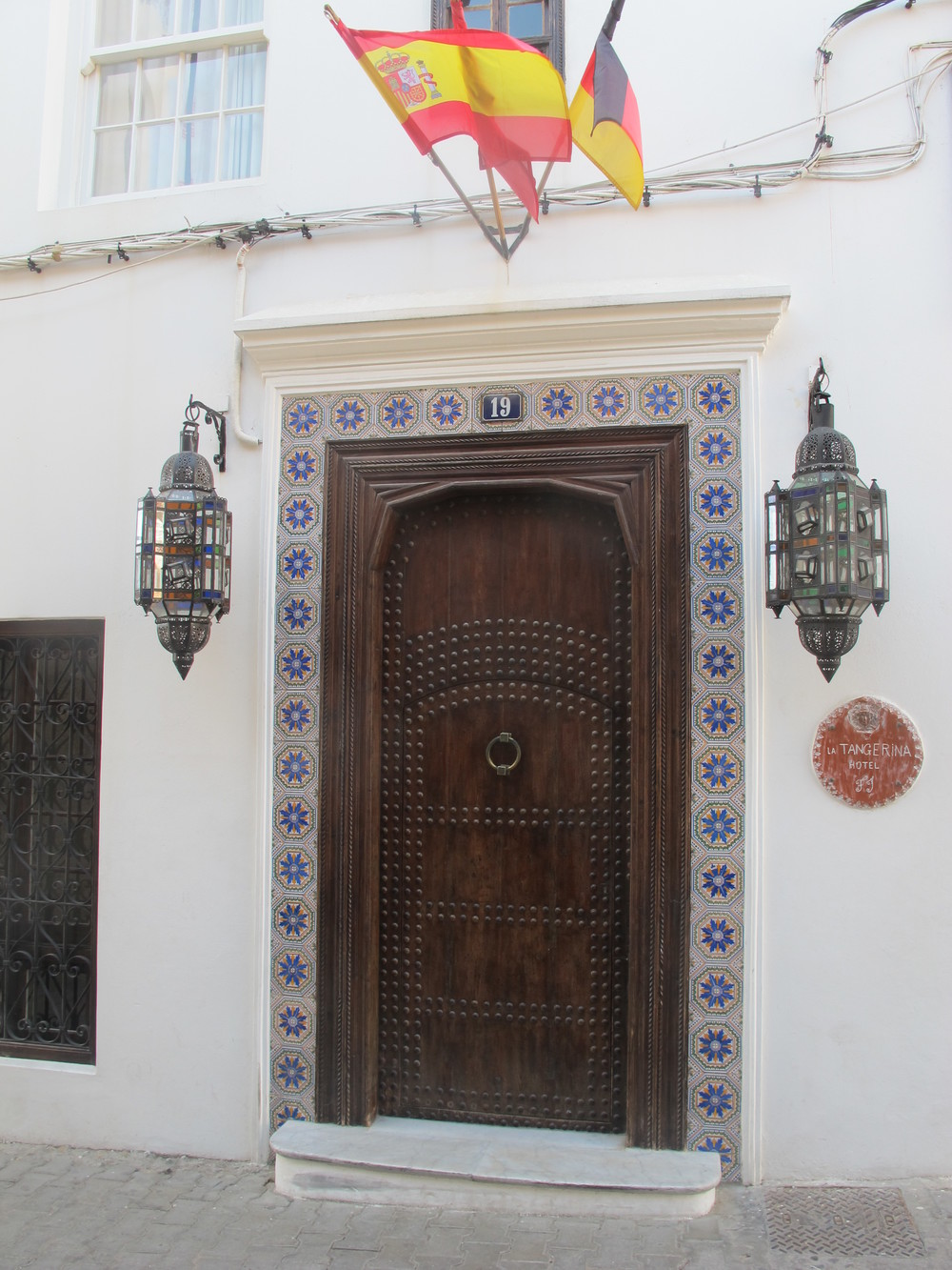 Hotel Tangerina in the Medina