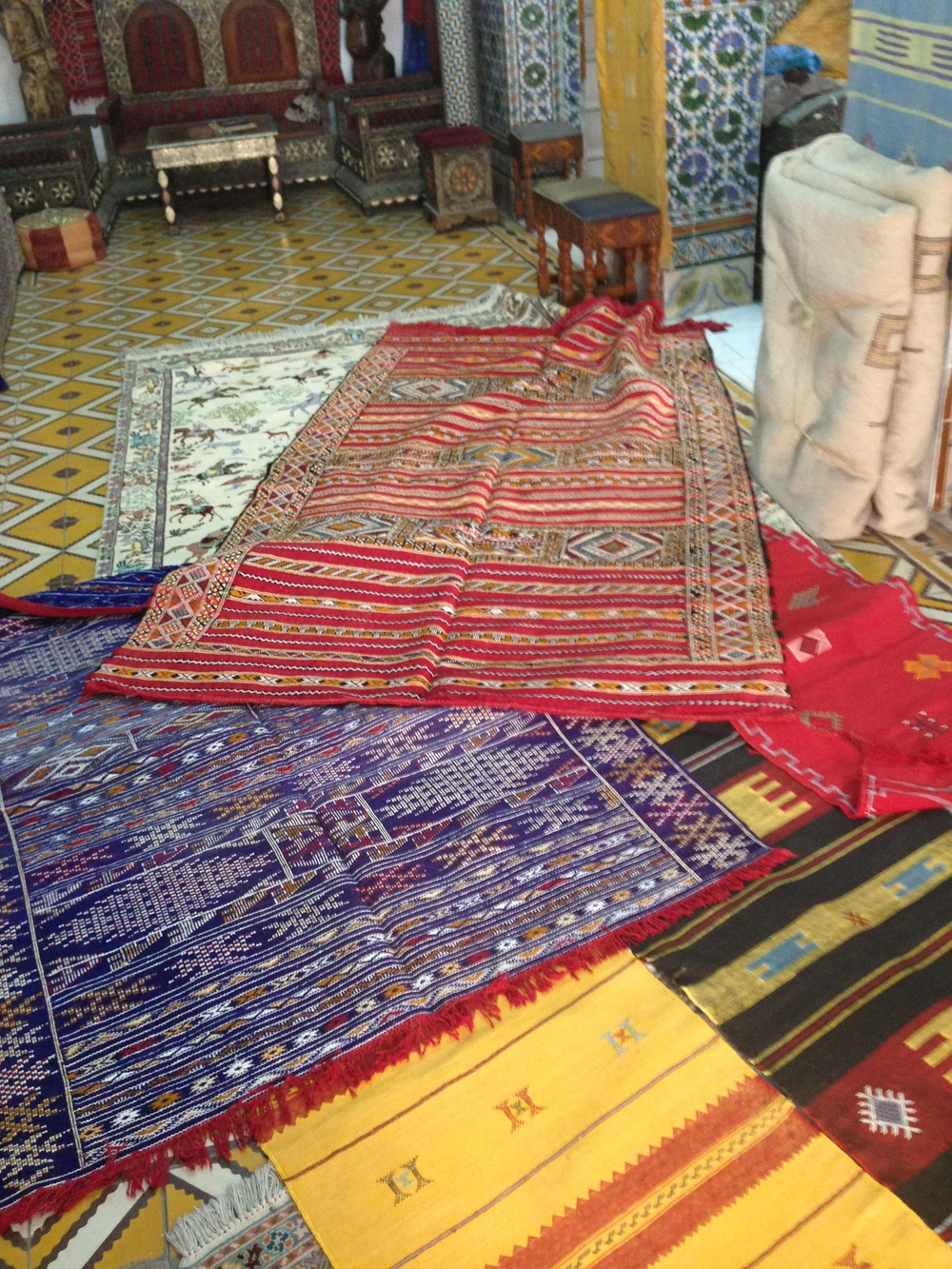 Rugs at Bazar Naciria