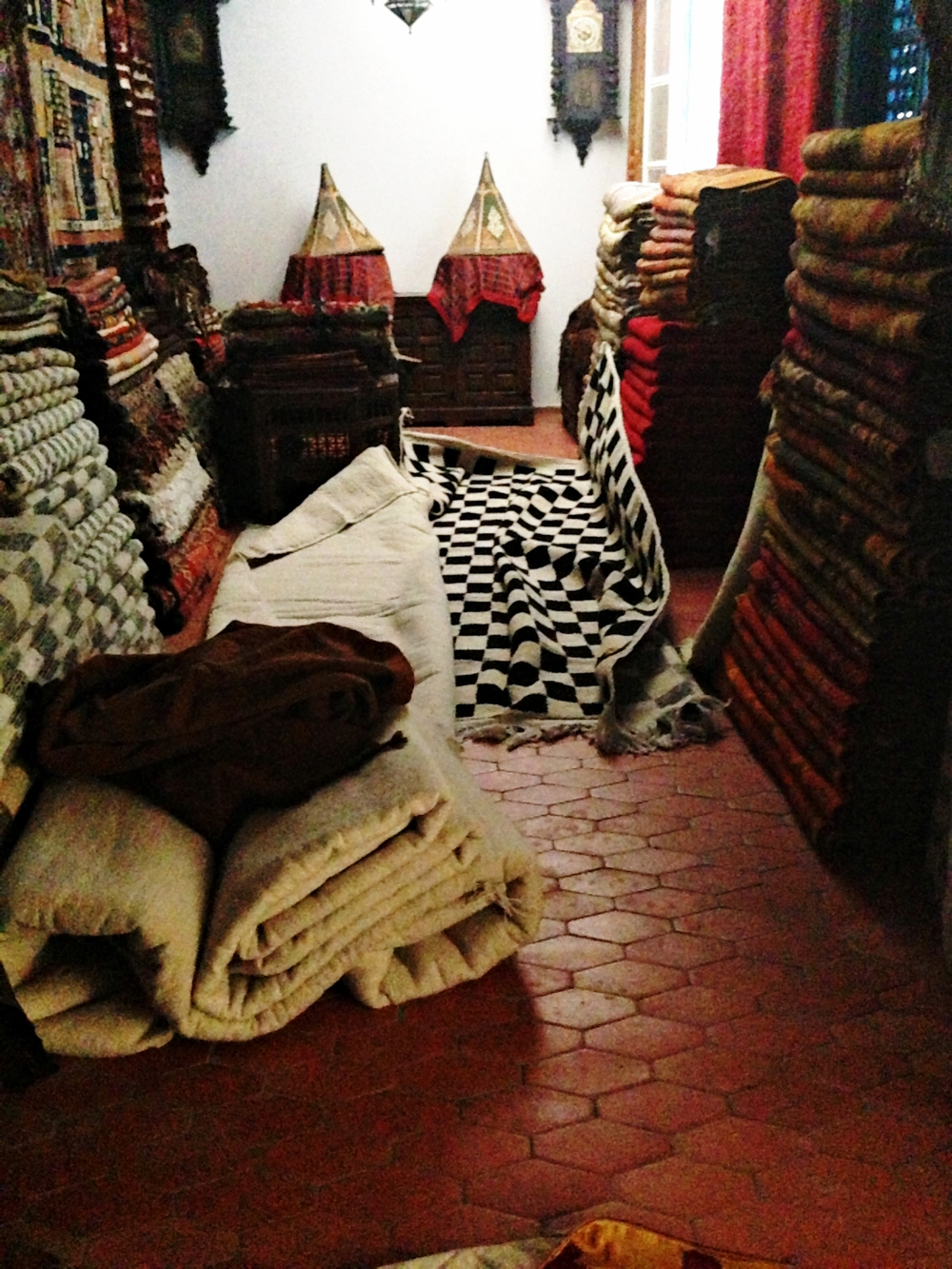 More rugs and textiles at Boutique Majid