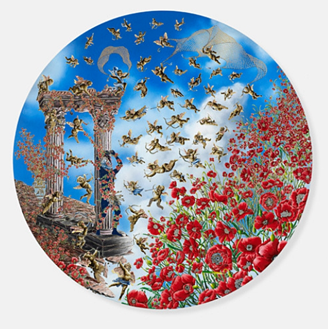 Raqib Shaw will have his first solo show at Pace from November 8 to December 21