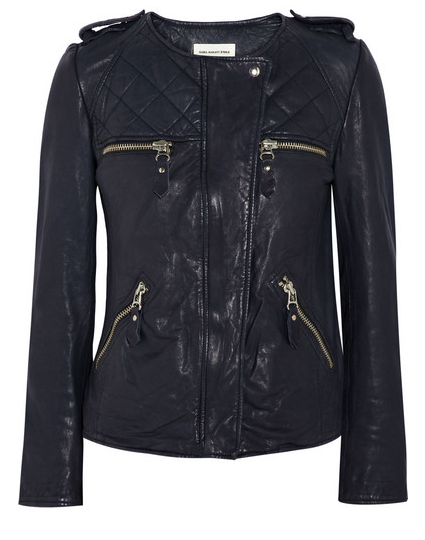 "Isabel Marant's ""Kadi"" Leather Jacket"