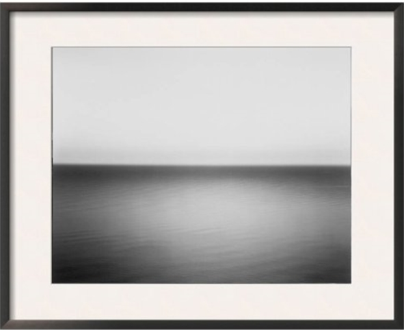 Hiroshi Sugimoto  Boden Sea, Uttwil, 		   1993   Photograph, Framed (Edition of 200)