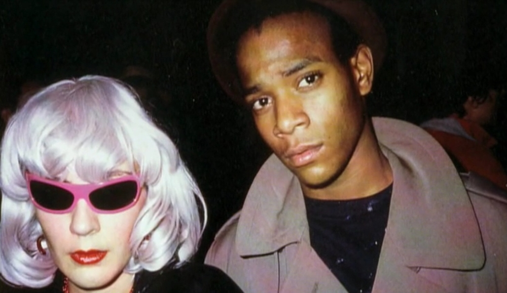 Maripol and Basquiat in 1983
