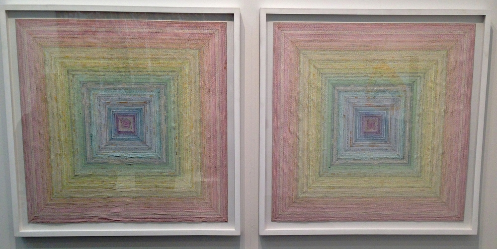 Simon Evan's Yantra's Diptych with James Cohan Gallery