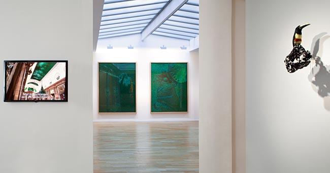 Jan Fabre's solo show at Galerie Daniel Templon