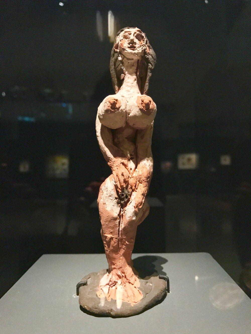Pablo Picasso, Femme Nue Debut, 1950