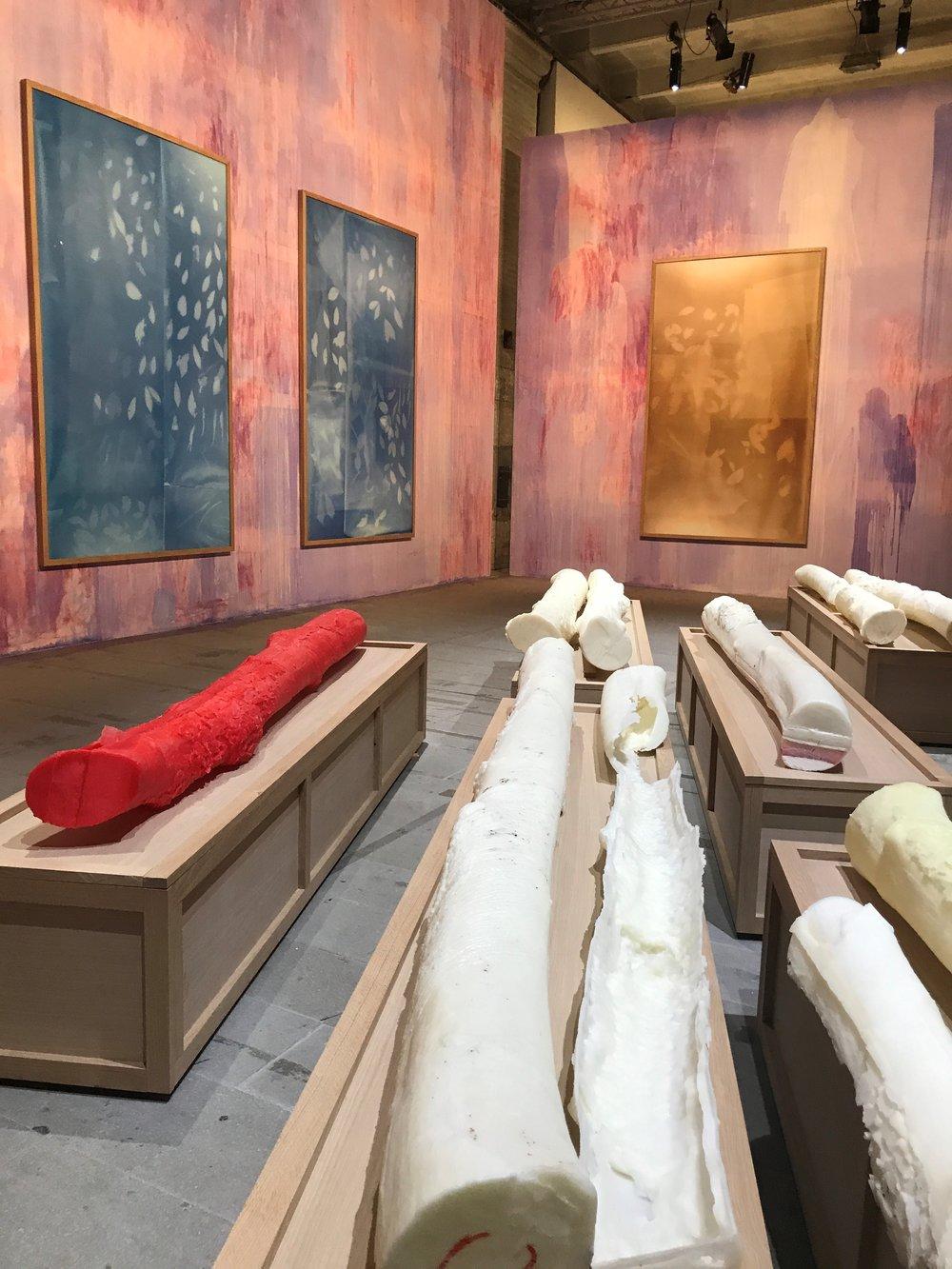 Thu Van Tran's installation