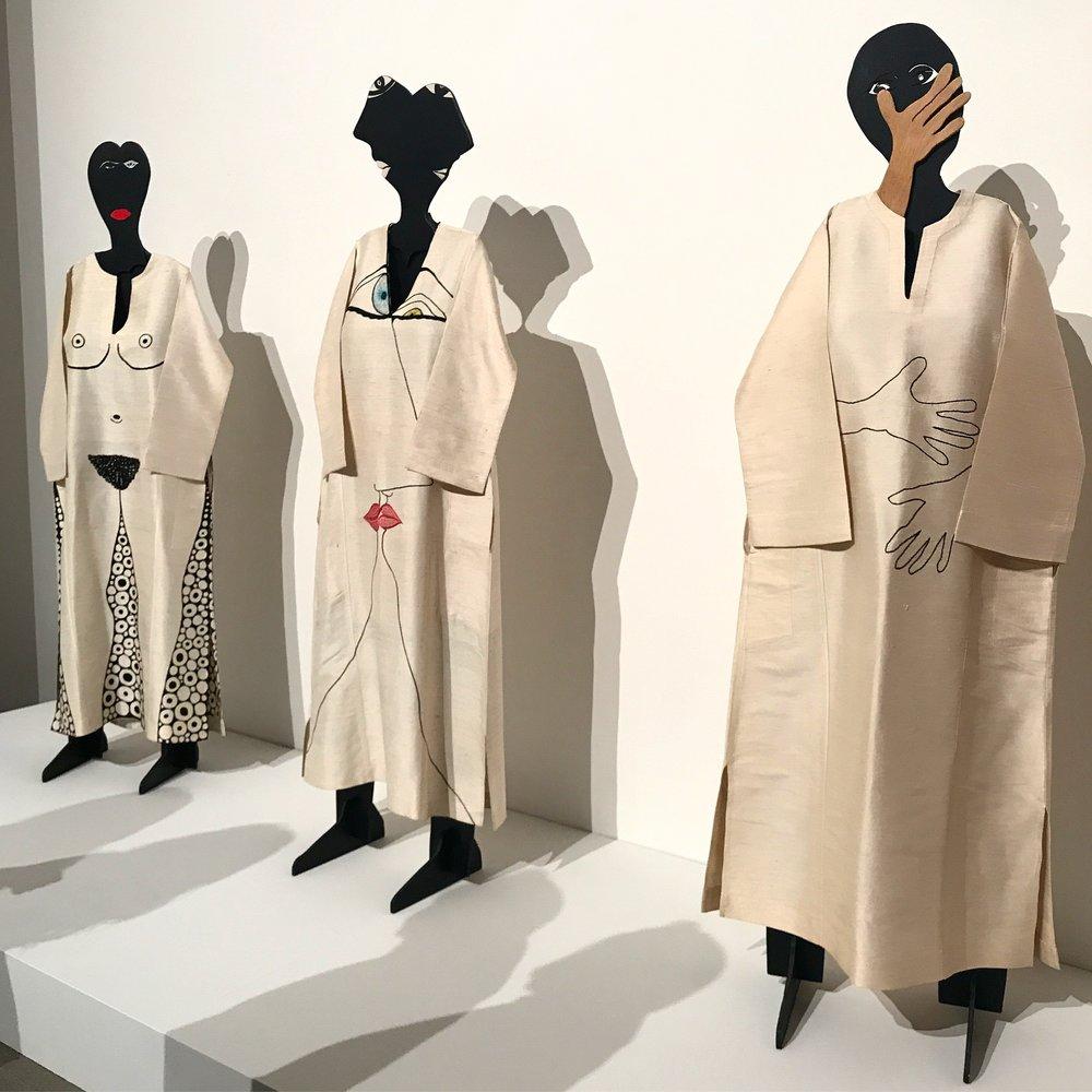 Hugette Caland's mannequins