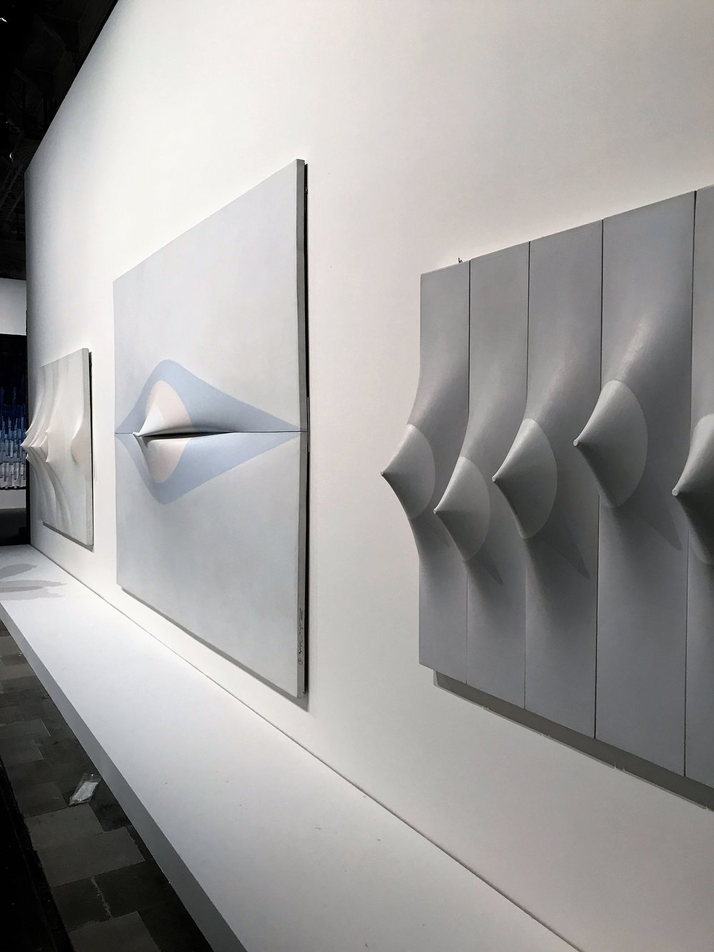 Zilia Sanchez's shaped canvases