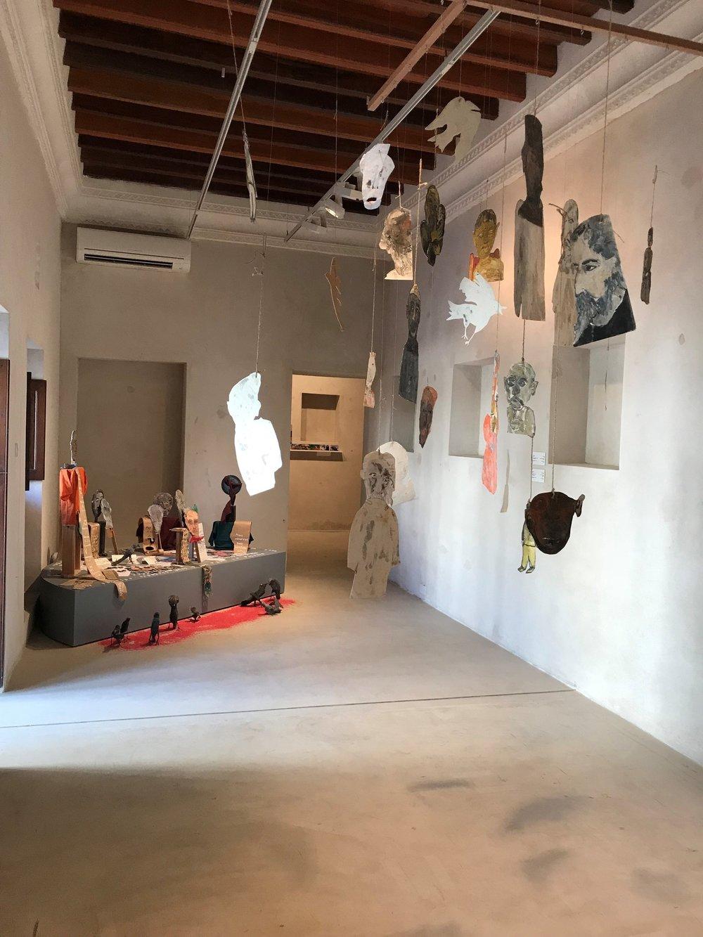 Anna Boghiguian's retrospective at the Sharjah Art Foundation