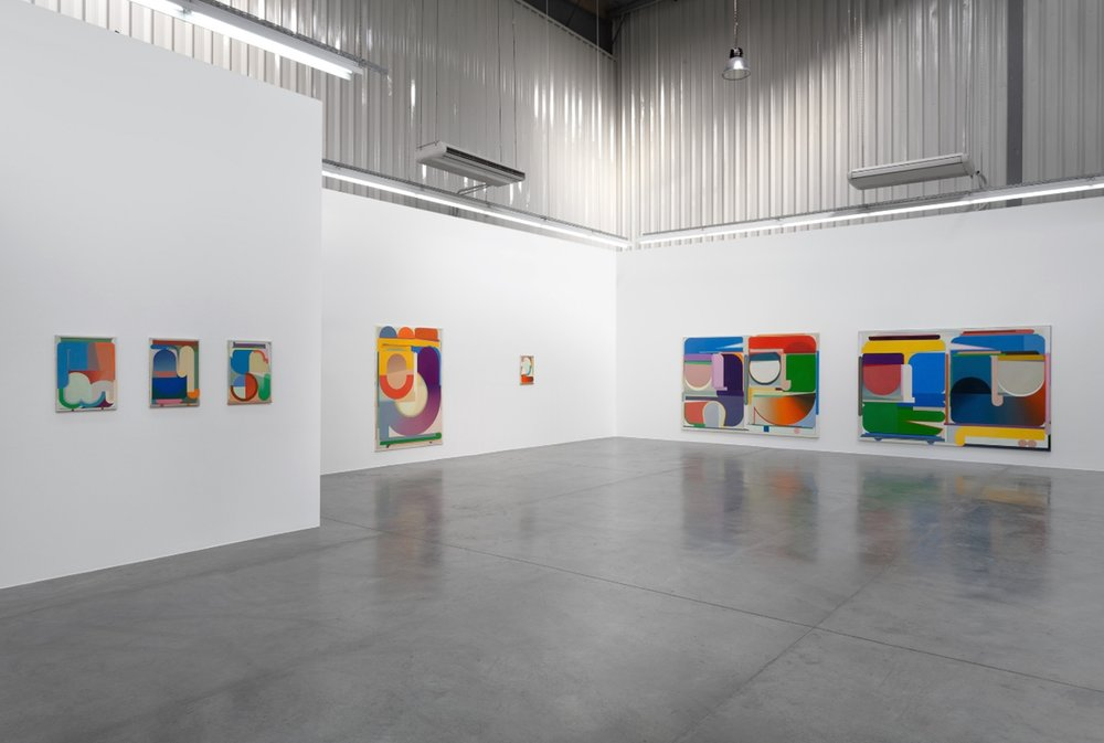 Bernard Buhmann's show at Carbon 12, Dubai