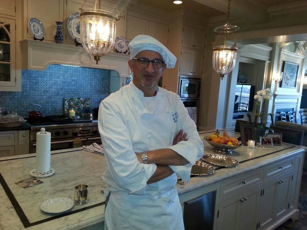 Chef David Daniel with Planet Chef