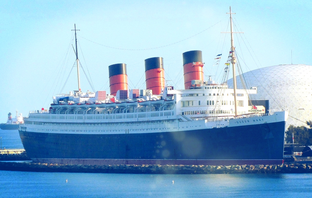 The Queen Mary in Long Beach California. Photo: David Jones