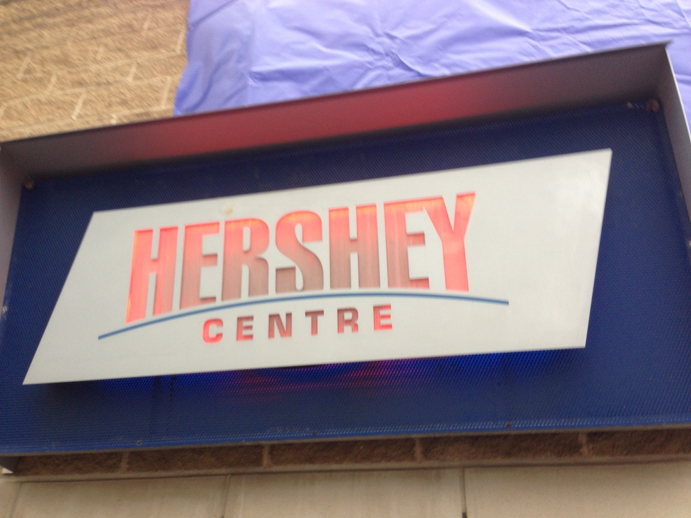 The Hershey Centre in Mississauga, Ontario