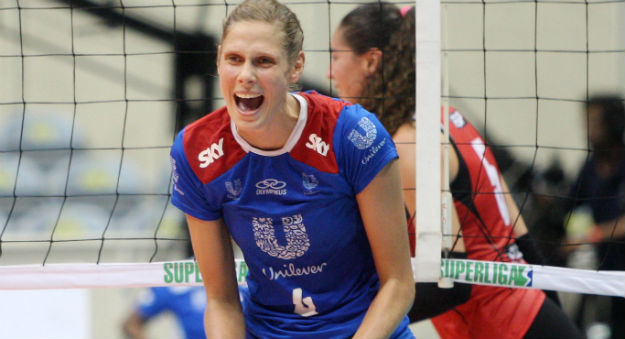 Canada's Sarah Pavan will compete for Brazil's Unilever at the FIVB World Club Championships in Zurich, Switzerland.