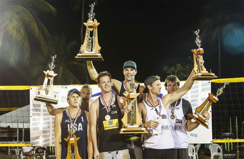 Maverick Hatch and Christian Redmann took home the top spot in Trinidad, while Chaim Schalk and Ben Saxton chipped in the a third of their own