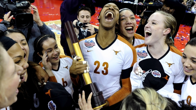 The Texas Longhorns will start their run at defending the NCAA title tonight