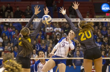 Calgary's Caroline Jarmoc has the tall task of getting her Kansas Jayhawks passed No. 3 Washignton tonight in the Third Round