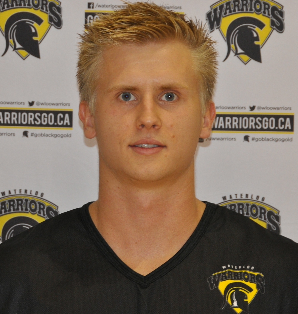 Aleks Poldma of The Waterloo Warriors.  Photo: Dan Ackerman.