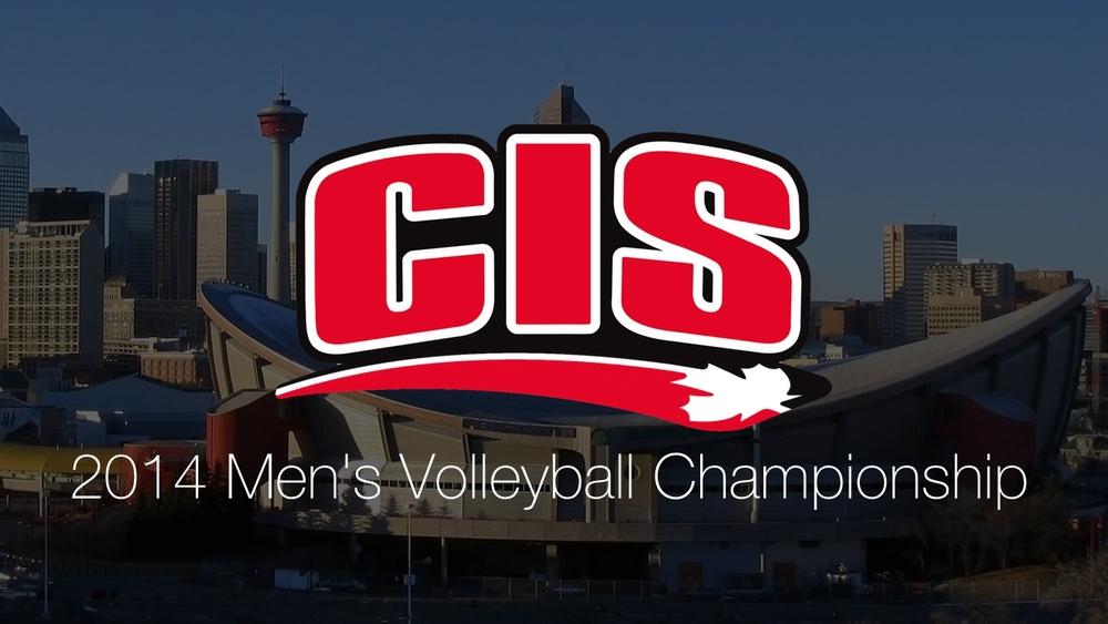 Calgary, Alberta - Home of the 2014 CIS Men's Volleyball Championship.