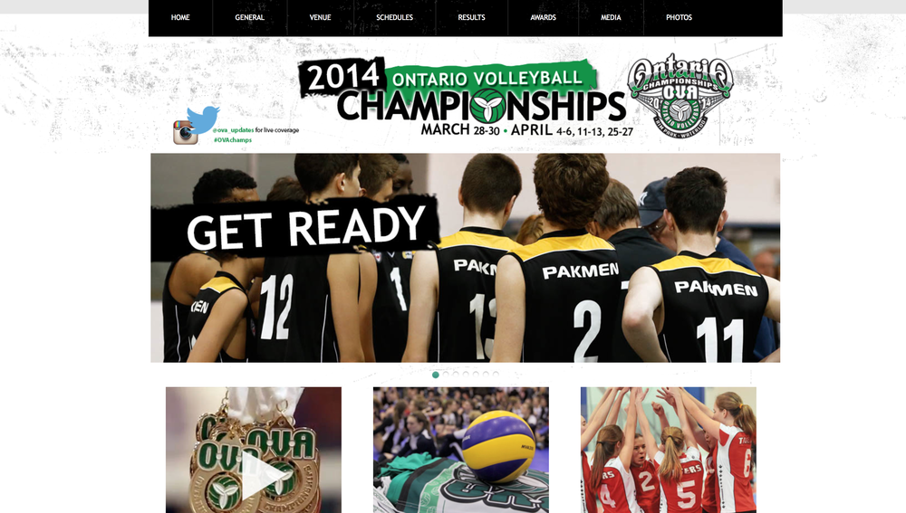 For more information about the tournament, check out the 2014 Ontario Volleyball Championships website.
