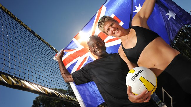 Beach National team Head Coach Steve Anderson helped lead Australia to a Gold medal at the 2000 Sydney Olympics. Can he do the same with our Canadians?  Photo: FIVB