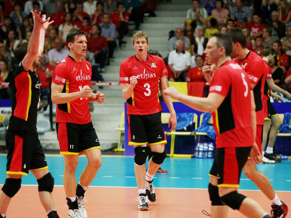 Belgium opened with a pair of historic wins this weekend when they defeated Australia 3-0 and 3-1 in their World League debut.  Photo: FIVB