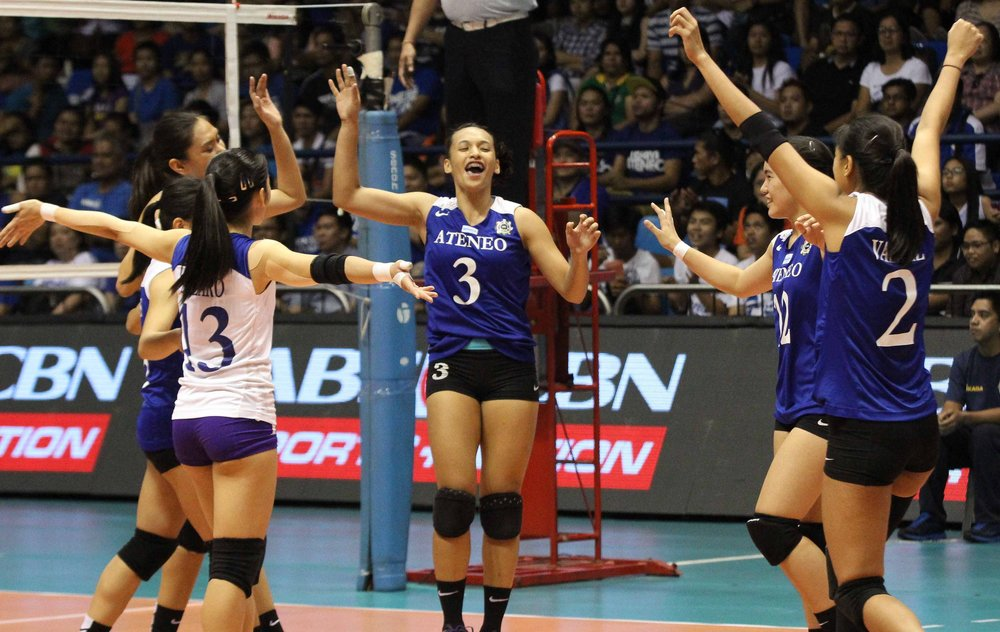 Ateneo in a thrice-to-beat situation.  Photo: Yahoo
