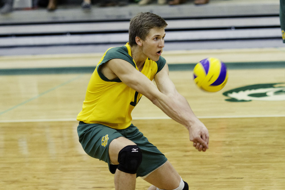 Ryley Barnes already has one CIS title, can he get another?  Photo: Alberta Golden Bears