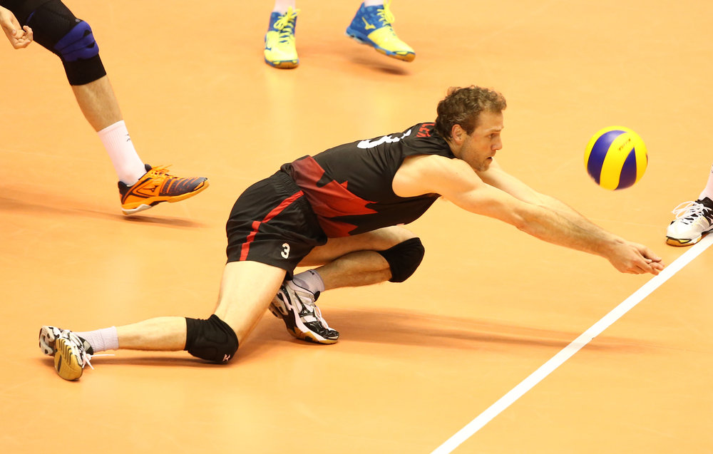 Libero Dan Lewis will have to be much better if Canada is going to keep the Rio Dream alive  Photo: FIVB