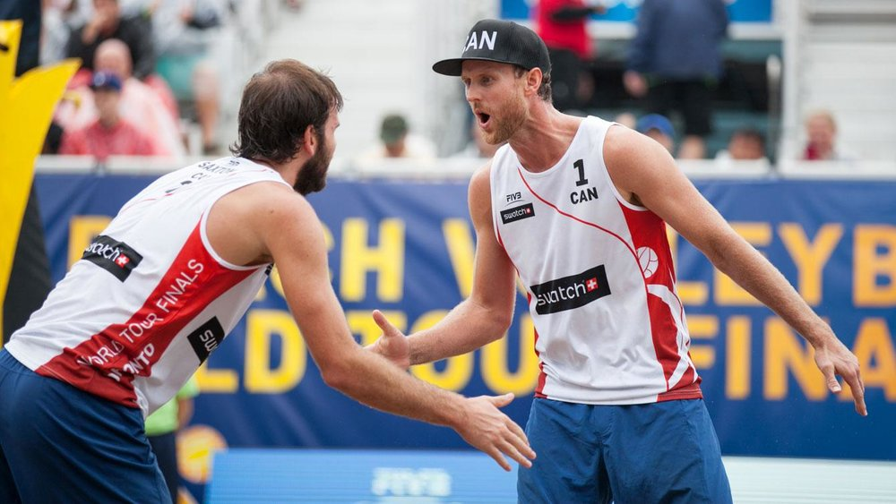 Chaim Schalk and Ben Saxton finished 4th at the 2016 World Tour Finals in Toronto