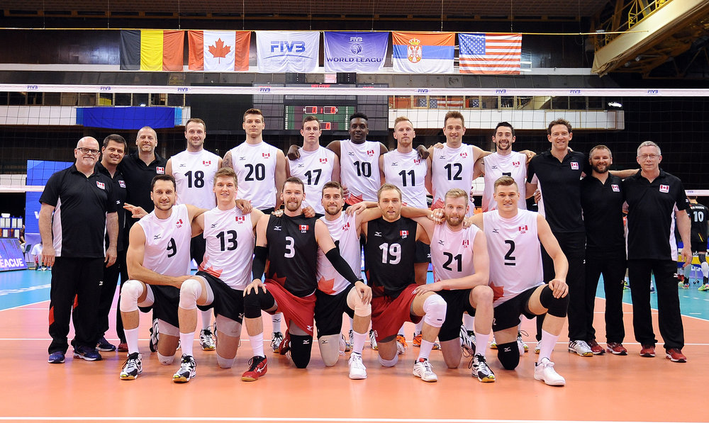 Team Canada - World League 2017  Photo: FIVB